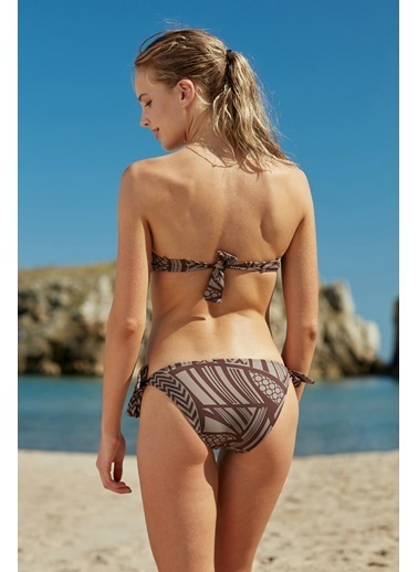 Marie Claire Kaplı Straplez Bikini Renkli